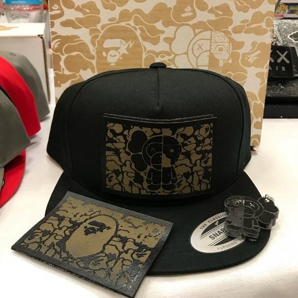 Bape X Baby Milo patch hat